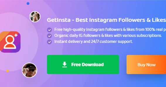 GetInsta: How It Helps You to Get More Instagram Followers and Likes